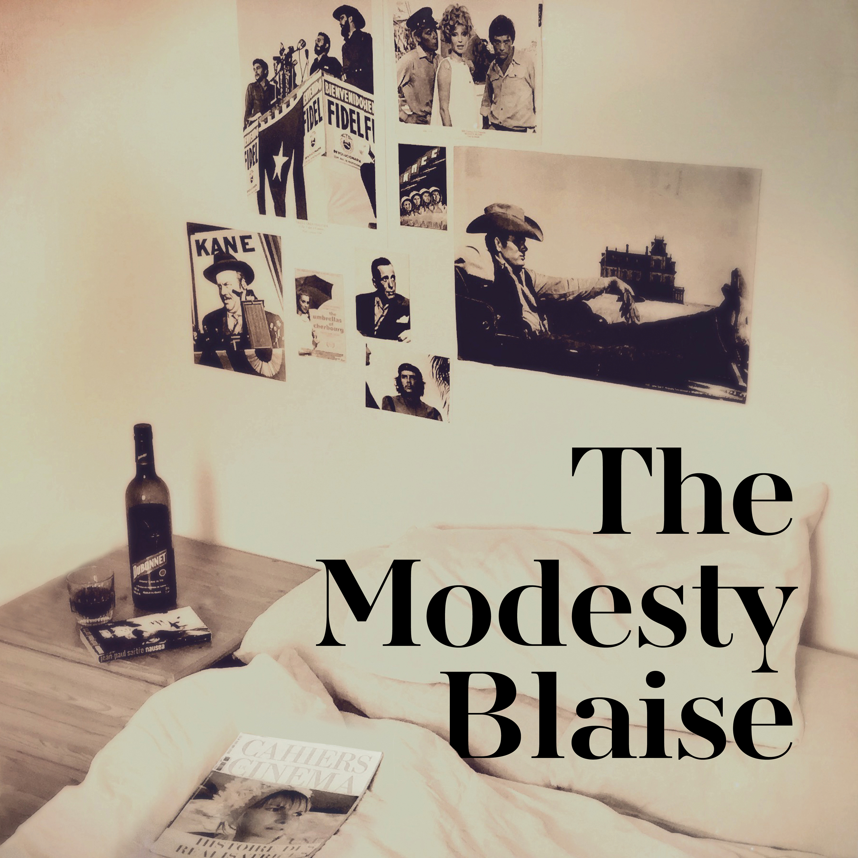 The Modesty Blaise Cover Square 3000px